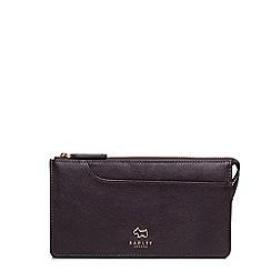 Radley - Large brown leather 'Pockets' matinee purse