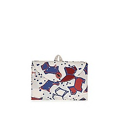 Radley - Cream speckle dog foldaway tote bag