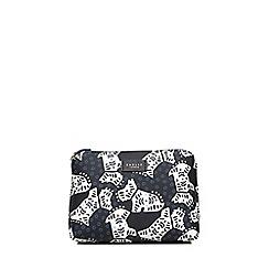Radley - Medium black 'Folk Dog' pouch