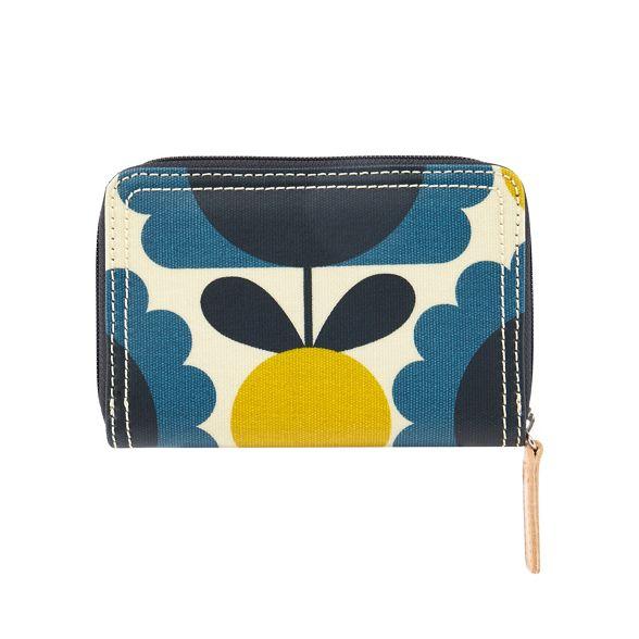 Kiely Orla Blue wallet spot floral print rqqHdzA