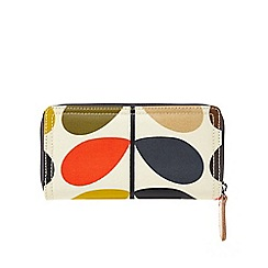 Orla Kiely - Multi-coloured stem print wallet