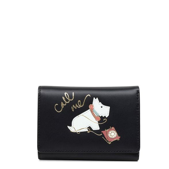 purse Radley small 'Call Black leather Me' folded H1HBYq