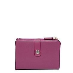 Radley - Pink leather 'Larks' medium folded purse