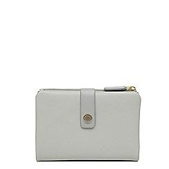 Radley - Light blue leather 'Larks Wood' medium folded purse