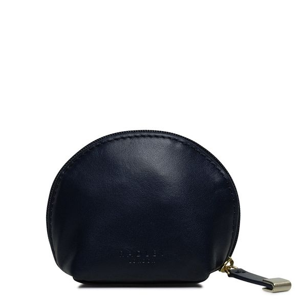 small purse Navy leather 'Shadow' around Radley zip coin qv1RxHt