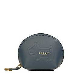 Radley - Dark green leather 'Shadow' small coin purse