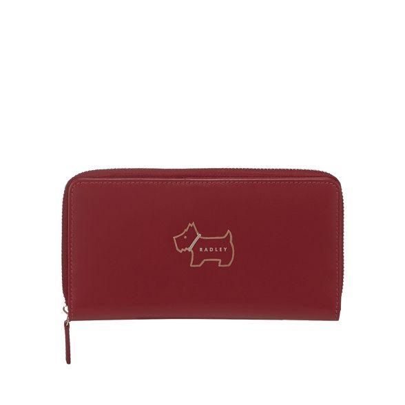large 'Heritage Wine Radley leather Dog' purse WIpEPqn