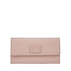 Radley - Light pink pebbled leather travel wallet