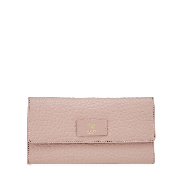 wallet pebbled travel pink Light Radley leather ORp6SRq