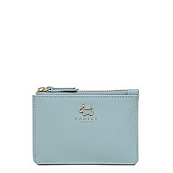 Radley - Light blue leather 'Haywood' coin purse