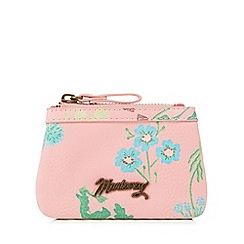Mantaray - Pink floral print coin purse