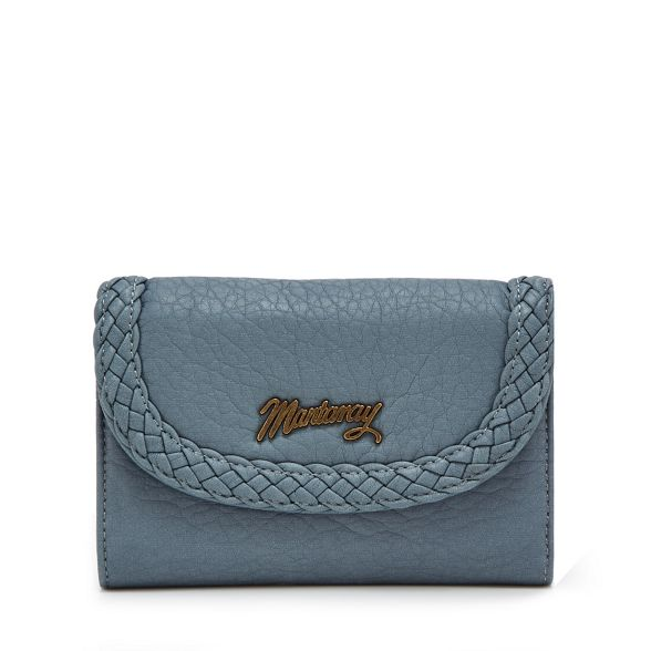 medium woven purse trim Light blue Mantaray IgfnqWaxEw