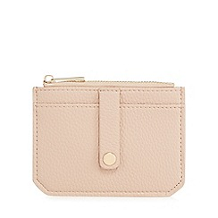 The Collection - Light pink zip top coin purse