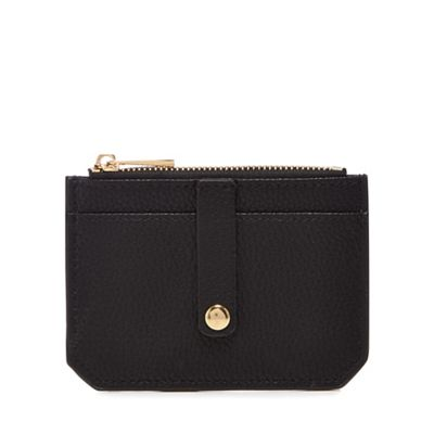 The Collection   Black Zip Top Coin Purse by The Collection