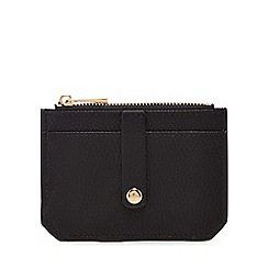 The Collection - Black zip top coin purse