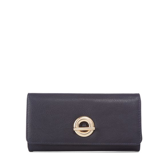 flapover medium Collection Black The purse circular fastening 1aIpwXqf