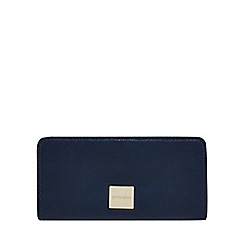 Principles - Navy zip around large purse
