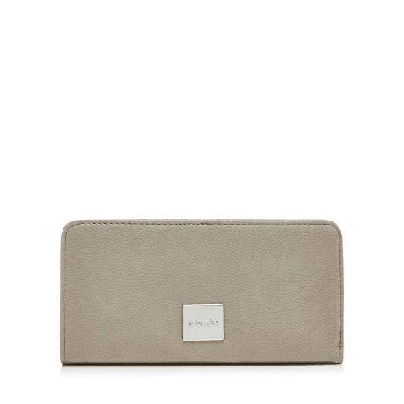 large around Grey purse Principles zip wAzqnOC