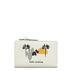 Radley - Off white leather 'Hello Sunshine' medium purse