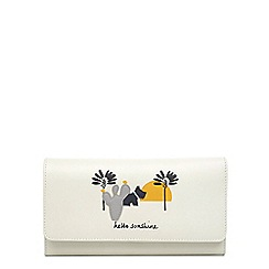 Radley - Leather 'Hello Sunshine' large flapover matinee purse