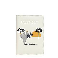 Radley - Leather 'Hello Sunshine' passport cover