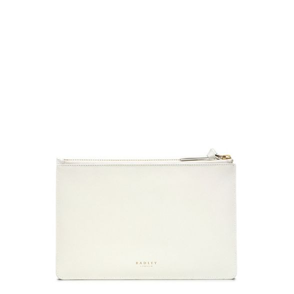 large white 'Hello Radley Off pouch leather Sunshine' wOpXBAqxv