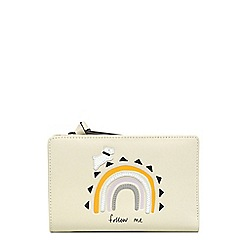 Radley - Cream leather 'Follow Me' medium purse