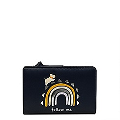 Radley - Navy leather 'Follow Me' medium purse