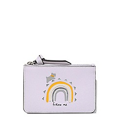 Radley - Purple leather 'Follow Me' small coin purse