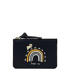Radley - Navy 'Follow Me' small coin purse