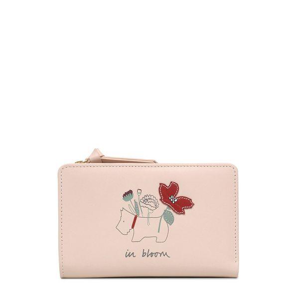Light Radley leather pink Bloom' 'In medium purse FvZwzq