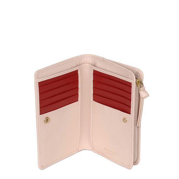 pink leather Bloom' Light medium 'In Radley purse aZw5xq