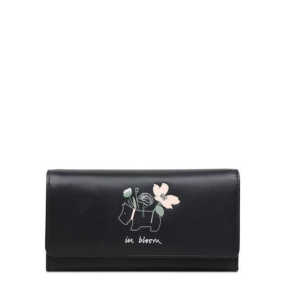 matinee 'In purse Bloom' leather large Black flapover Radley 7aZTw
