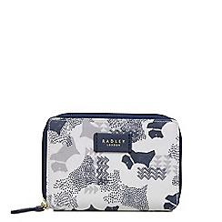 Radley - Ivory 'Data Dog' medium bifold purse
