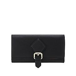 J by Jasper Conran - Black buckle detail large purse