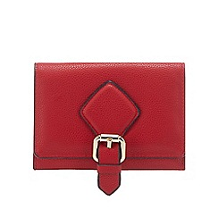 J by Jasper Conran - Red buckle detail small purse
