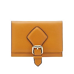 J by Jasper Conran - Mustard buckle detail small purse