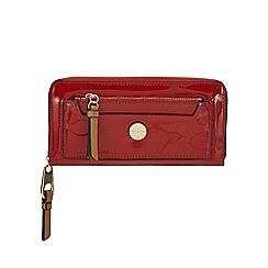 J by Jasper Conran - Red patent large purse