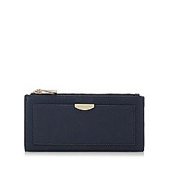 J by Jasper Conran - Navy double zip large purse