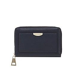 J by Jasper Conran - Navy zip around medium purse