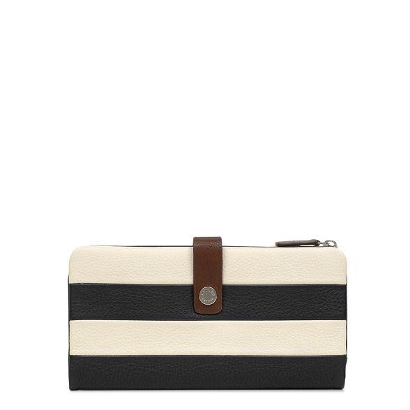 striped purse matinee 'Babington' coloured folded leather large Multi Radley qCw7E68