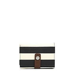 Radley - Multi-coloured striped leather 'Babington' small folded purse