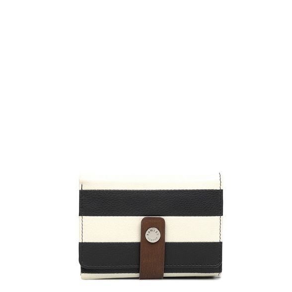 'Babington' Radley small purse coloured leather Multi striped folded qIzI16w