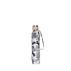 Radley - Ivory 'Data Dog' mini telescopic umbrella