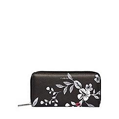 Fiorelli - Multi-coloured floral print 'City' zip around purse