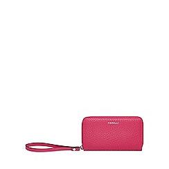 Fiorelli - Bright pink 'Finley' medium zip around purse