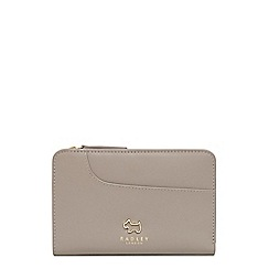 Radley - Taupe leather 'Pockets' medium purse