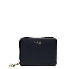 Radley - Navy leather 'Arlington Street' medium purse