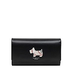 Radley - Black 'Fenchurch Dog' Large Flapover Matinee Purse