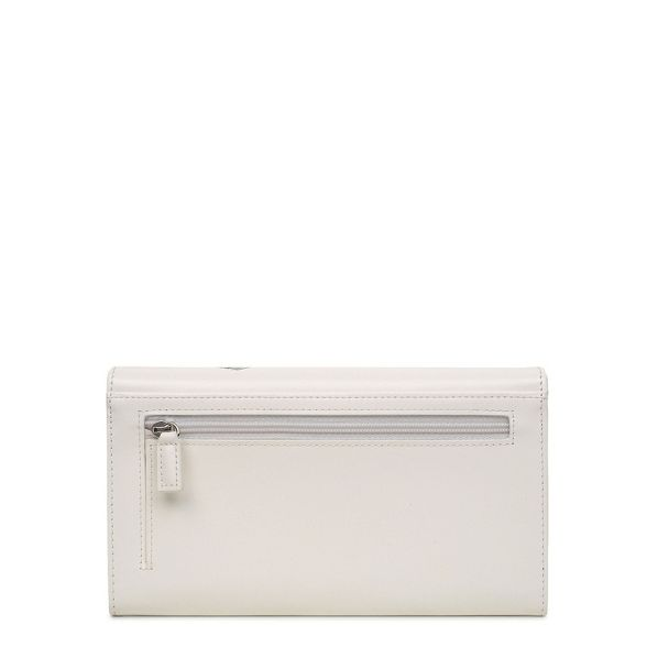 'Fenchurch large Circle' White purse Radley flapover leather matinee UwEOHqFv